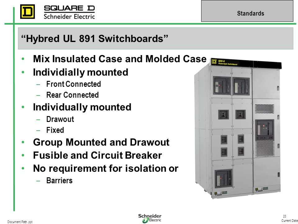 Hybred UL 891 Switchboards
