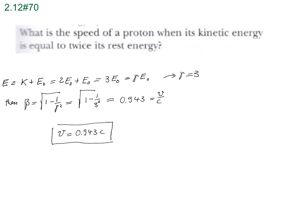 how to find relativistic kinetic energy