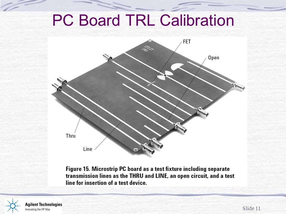 PC Board TRL Calibration