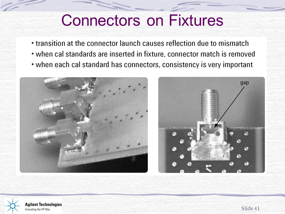 Connectors on Fixtures