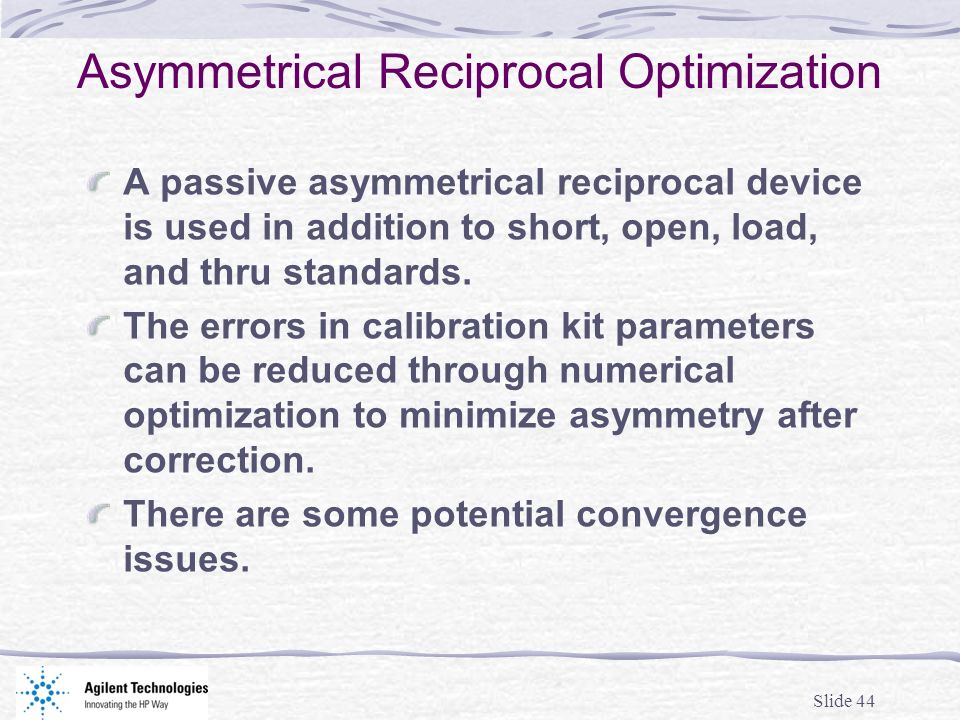 Asymmetrical Reciprocal Optimization