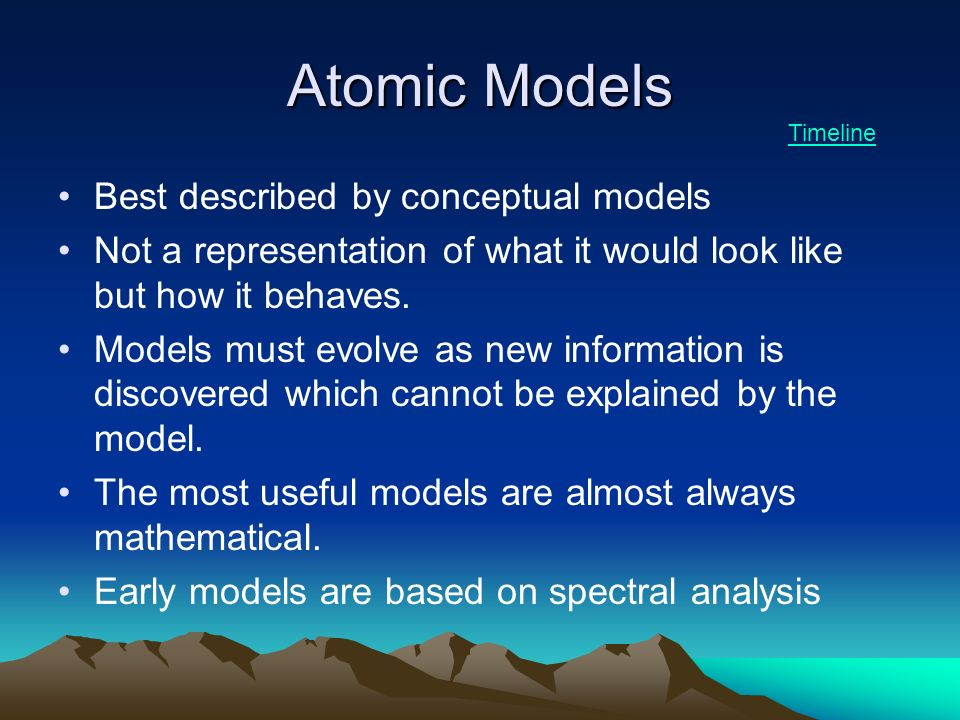 an analysis of the development of the atomic theory This lesson reviews the early development of the periodic table and  the development of modern atomic theory  to support analysis of.