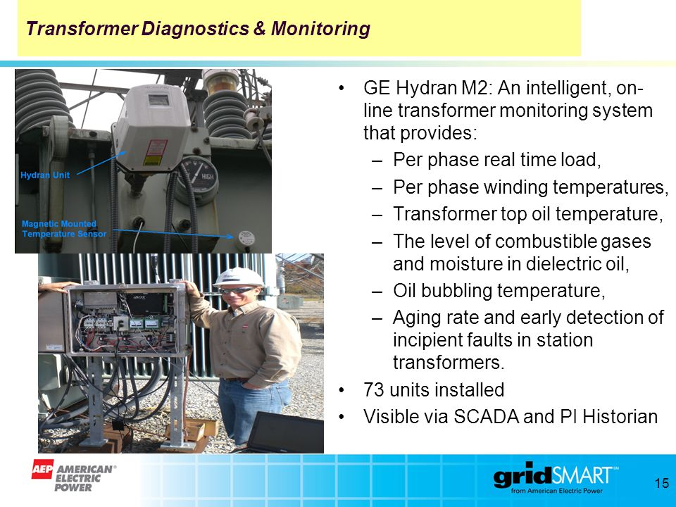 Transformer Diagnostics & Monitoring