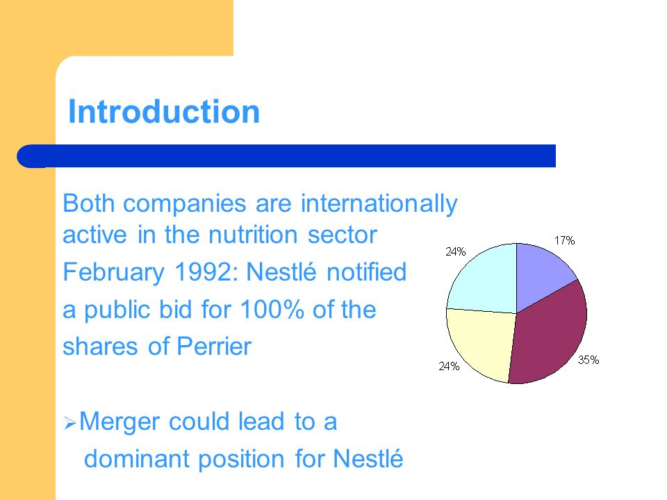international marketing case study nestle Nestle supply chain case study nestle, an international recognized multinational corporation is the world's leading nutrition, health and wellness company.