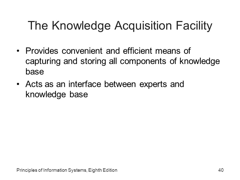 Principles Of Data Acquisition : Principles of information systems ppt video online download