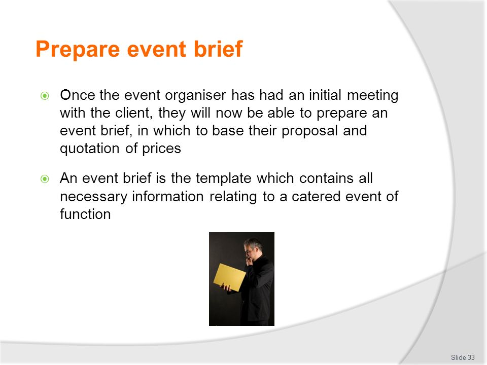 event brief template - manage special events d1 hml d1 hrm cl ppt download