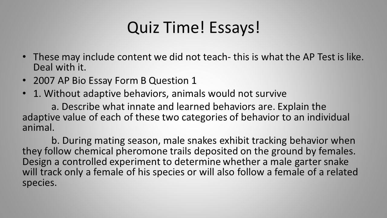behavior essay microeconomics essay topics chapter 51 animal behavior ppt quiz time%21 essays%21 these include