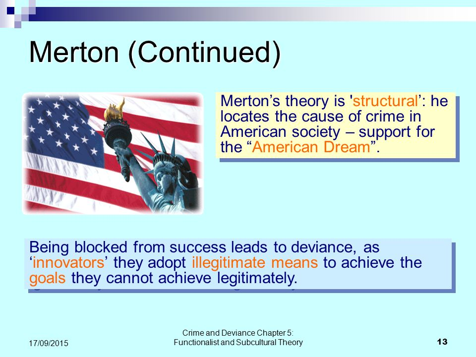sub cultural crime and deviance Useful video on subcultural theories of crime the channel that produces it has  loads of similarly structured videos on other crime & deviance.
