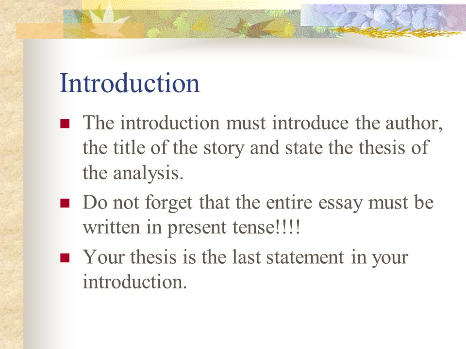 how to write an essay about short story Ready to get writing here are seven steps on how to write a short story from start to finish.