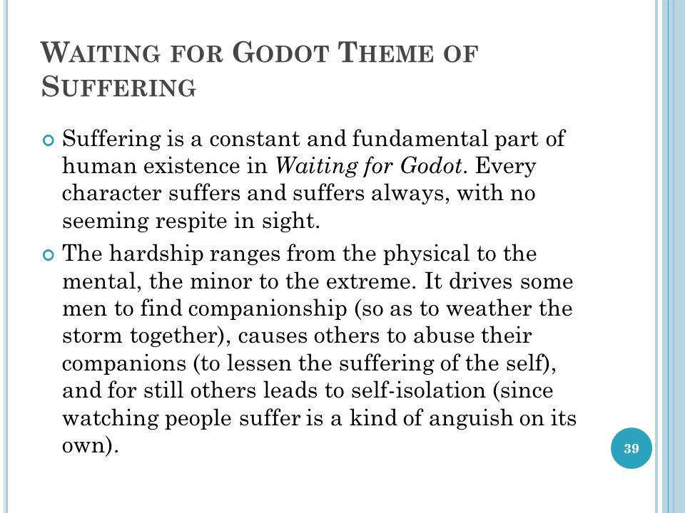 drama ii modern drama lecture ppt video online  39 waiting for godot