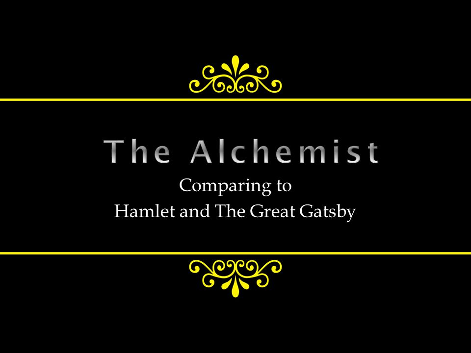comparing to hamlet and the great gatsby ppt video online  comparing to hamlet and the great gatsby