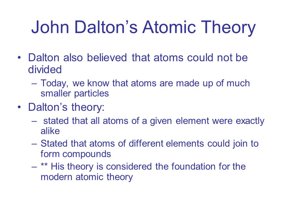 Atoms and the periodic table ppt download 3 john daltons atomic theory urtaz Choice Image