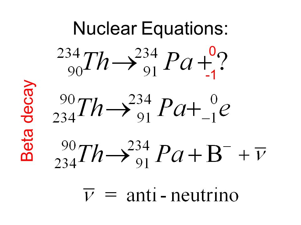 write a nuclear equation for the beta decay of carbon-14 definition