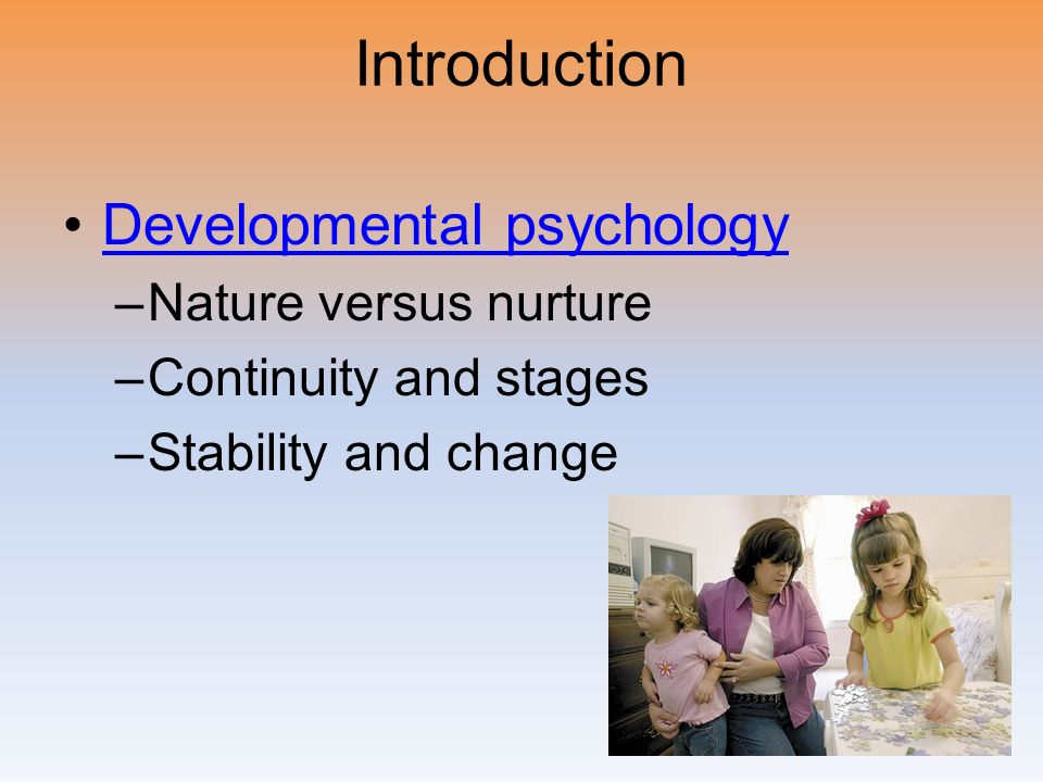 an overview of theories on nature vs nurture The nature versus nurture debate is a debate about whether our characteristics are because of genetics or because of the environment it's a very old debate it's a very old debate.