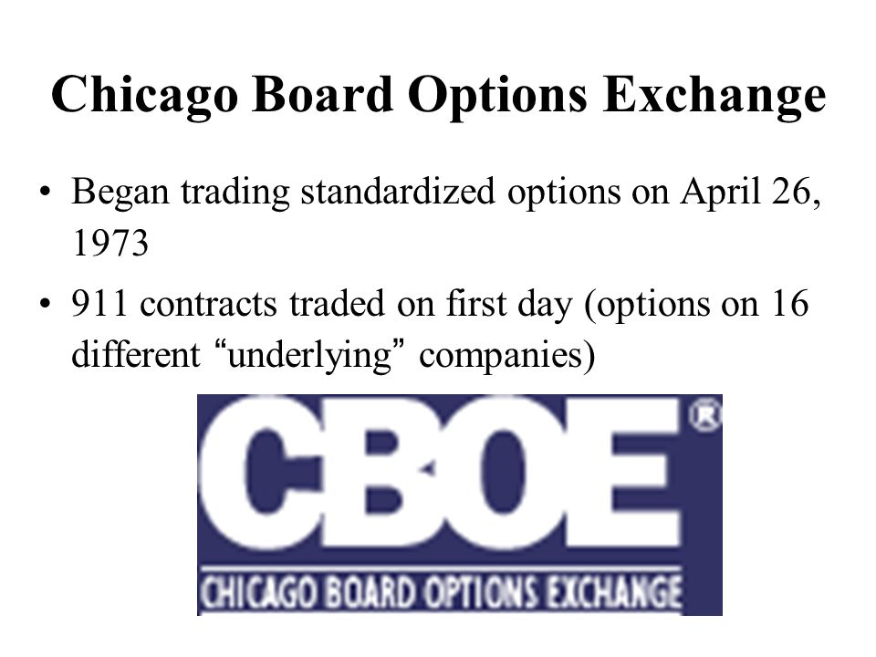 Chicago options exchange trading hours