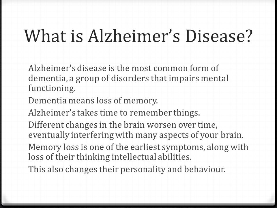 sci 162 powerpoint presentation on alzhymers disease courtesy of community health action presentation to the visn alzheimers