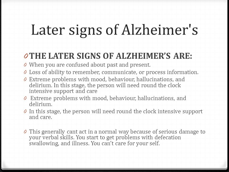 Alzheimer's Disease By Joseph Molluso  Ppt Download. Cans Signs. Common Health Safety Signs. Ecg Signs. Skin Mets Signs. Stroke Prevention Signs. Bradycardia Signs Of Stroke. Autism Classroom Signs. T Shirt Signs Of Stroke