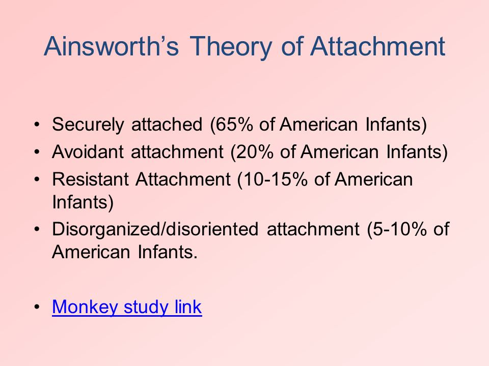 attachment theory in nursing Free essays from bartleby | the implications of attachment theory for different forms of childcare developmental psychologists are interested in the study of.