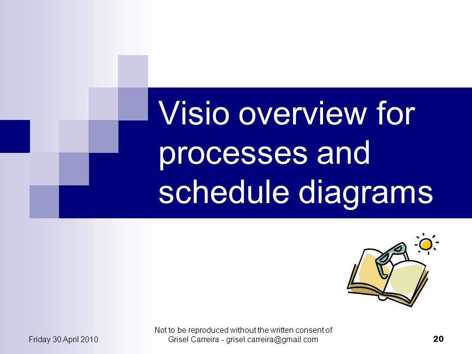 Visio overview for processes and schedule diagrams