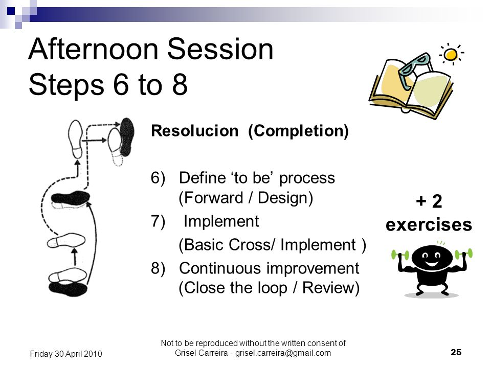 Afternoon Session Steps 6 to 8 + 2 exercises Resolucion (Completion)