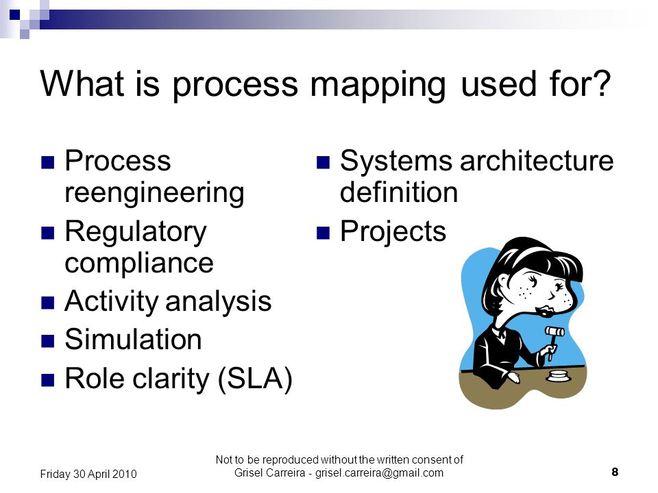 What is process mapping used for