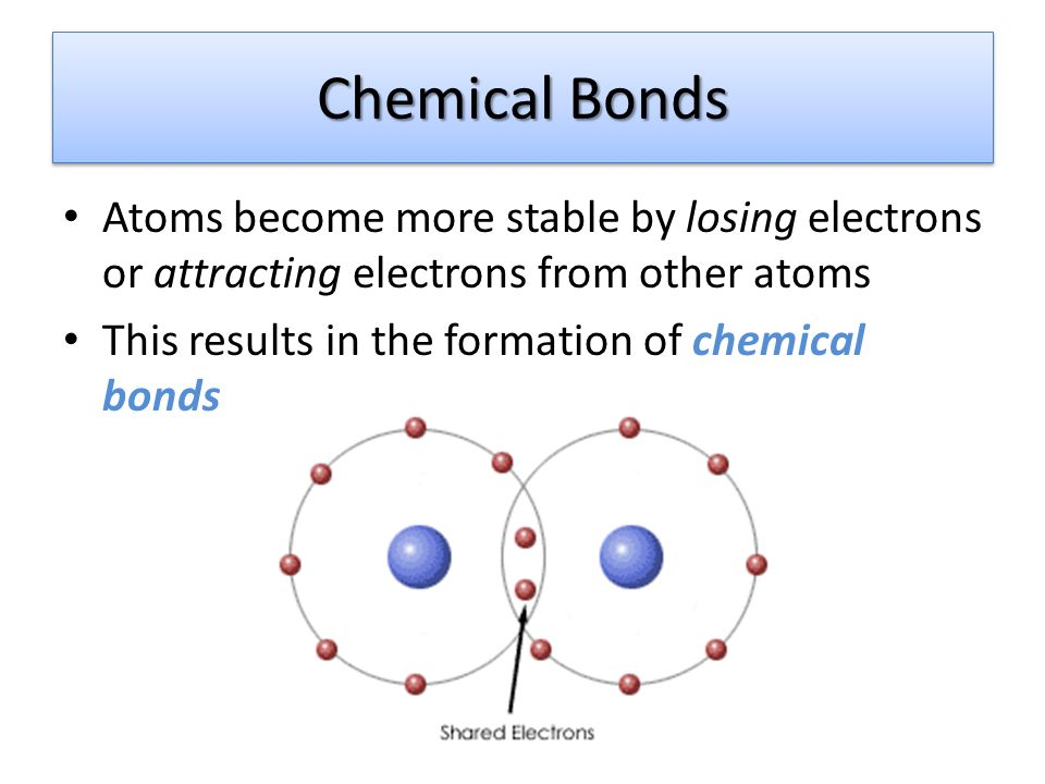 how to make an atom stable