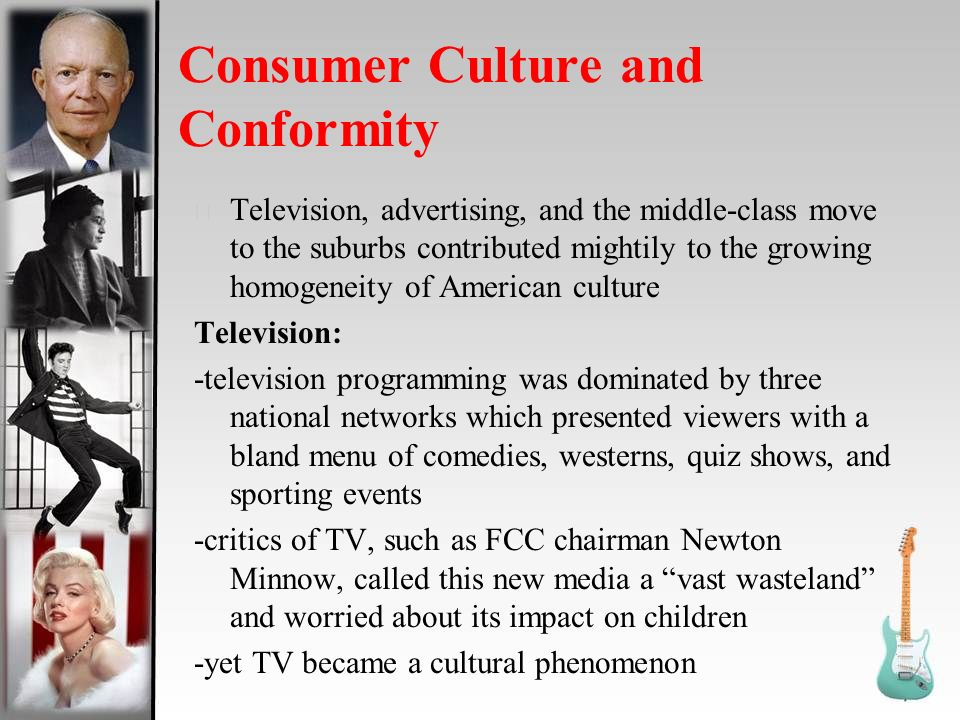 consumer culture in america yesterday it This class examines how and why twentieth-century americans came to define the good life through consumption 21h206 american consumer culture fall 2007.