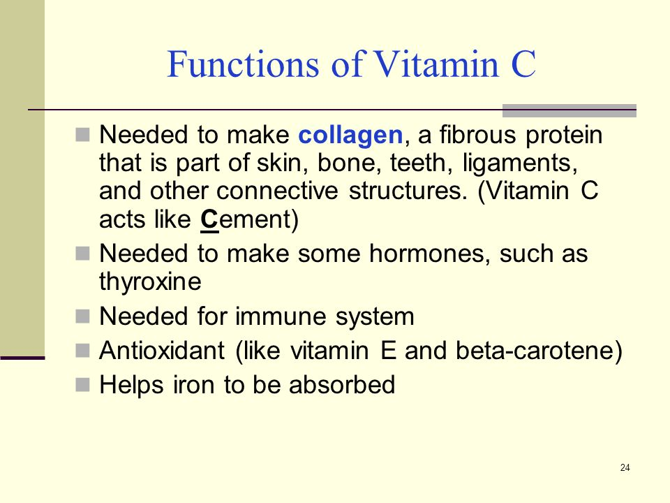 Chapter 6 Vitamins Ppt Video Online Download