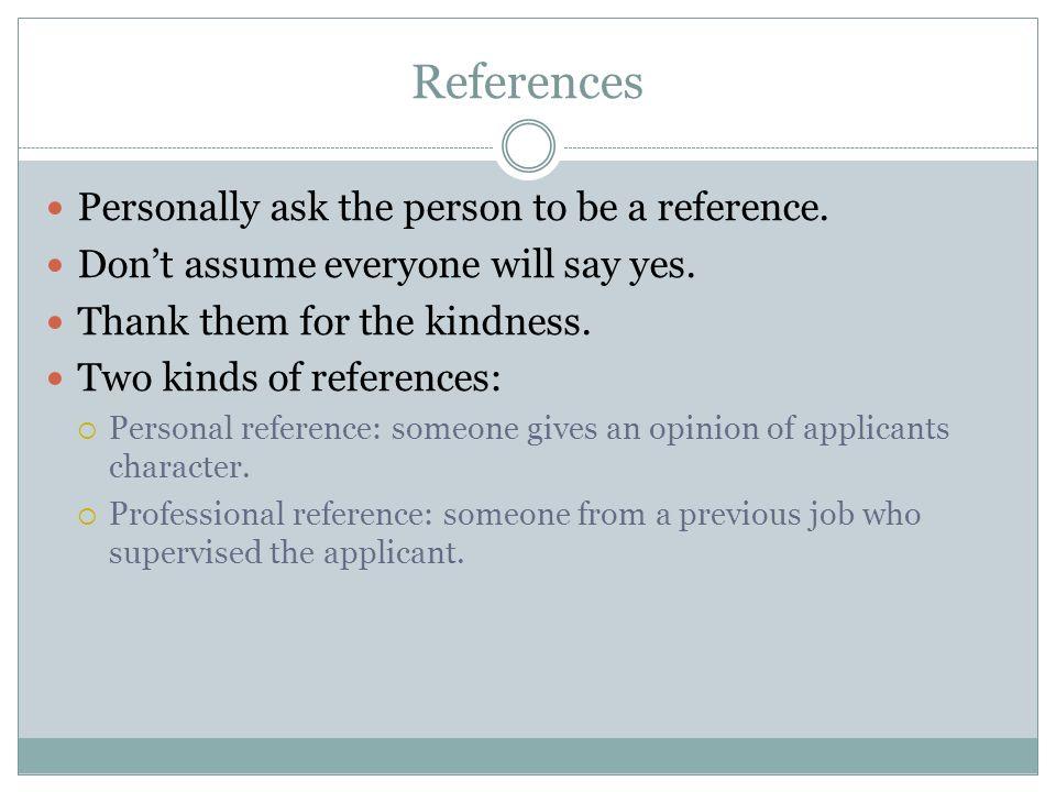 personal or professional references radiotodorock.tk