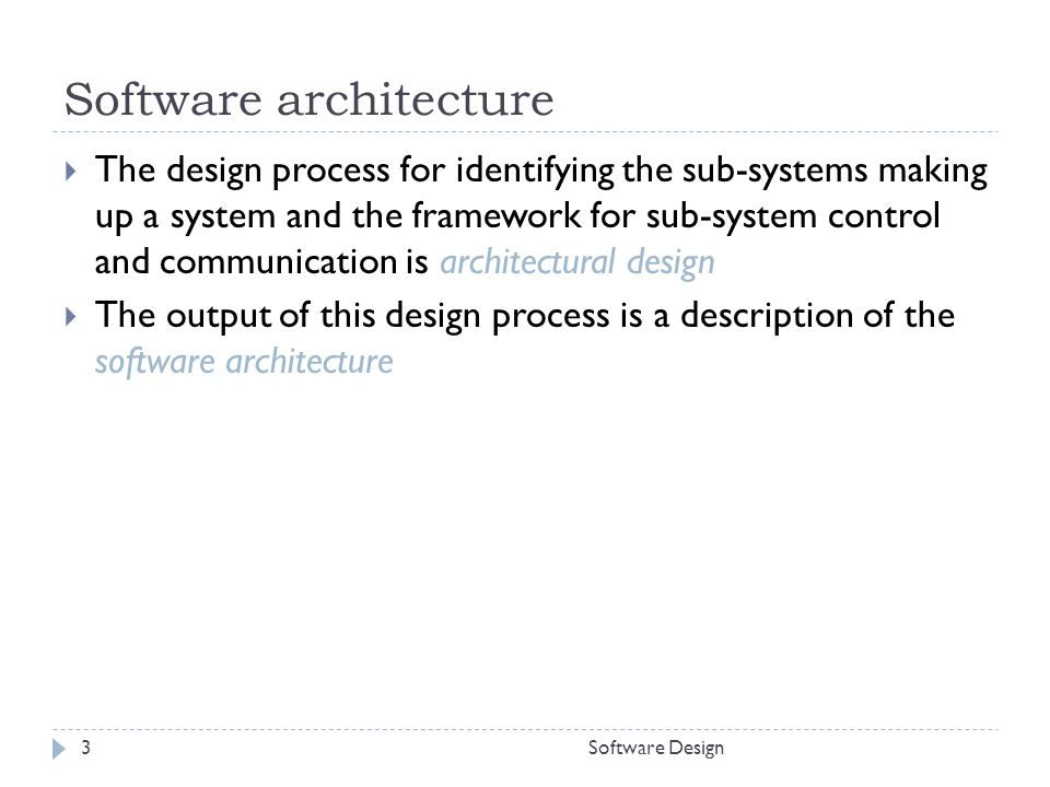 architectural design distributed systems architectures ppt video