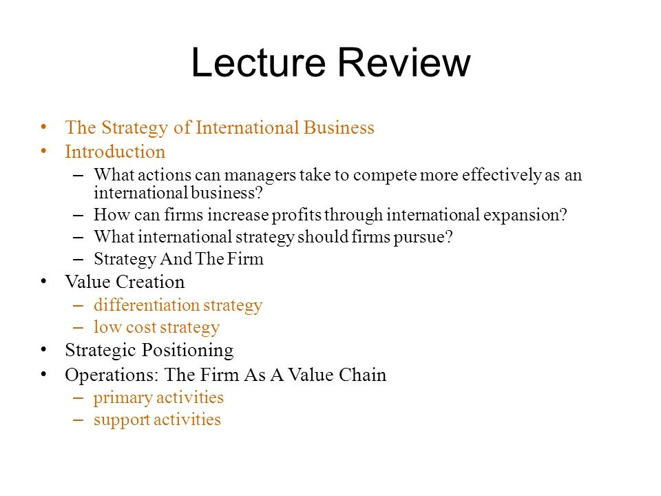 strategy of international business essay The review of international business strategies economics essay introduction international management is an emerging but increasingly important area of study of transactions taking place across the national borders for full filling the requirements of organisational and individuals.