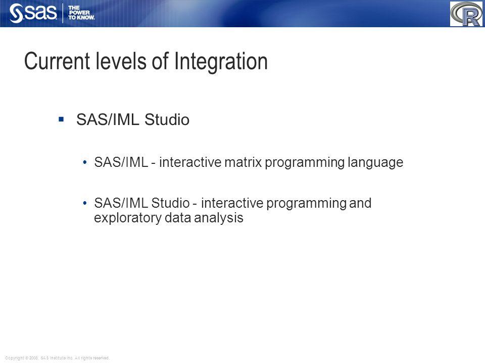 Current levels of Integration