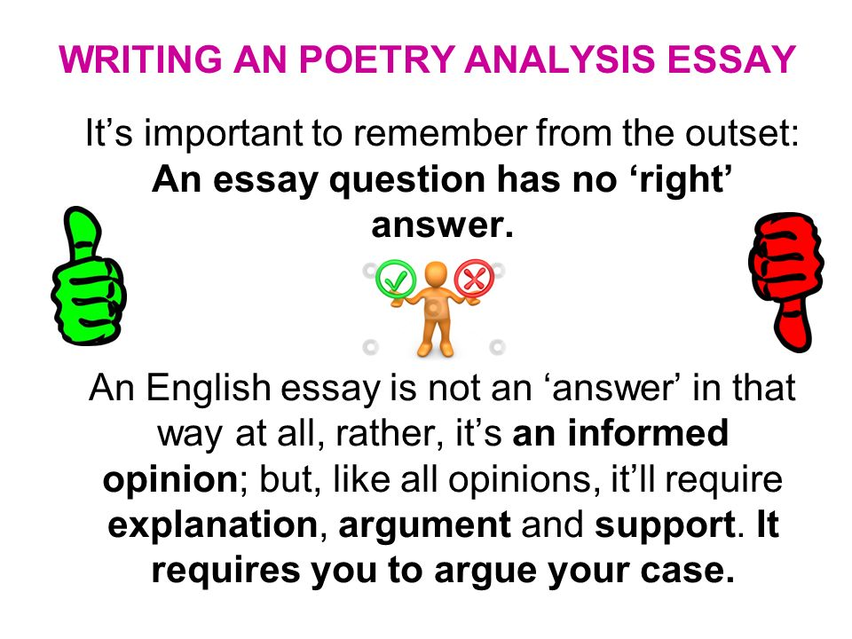 poetry 2 essay Poetry essay helps you analyse and write about poems if you are studying gcse or a level english, this educational channel will provide you with the support.