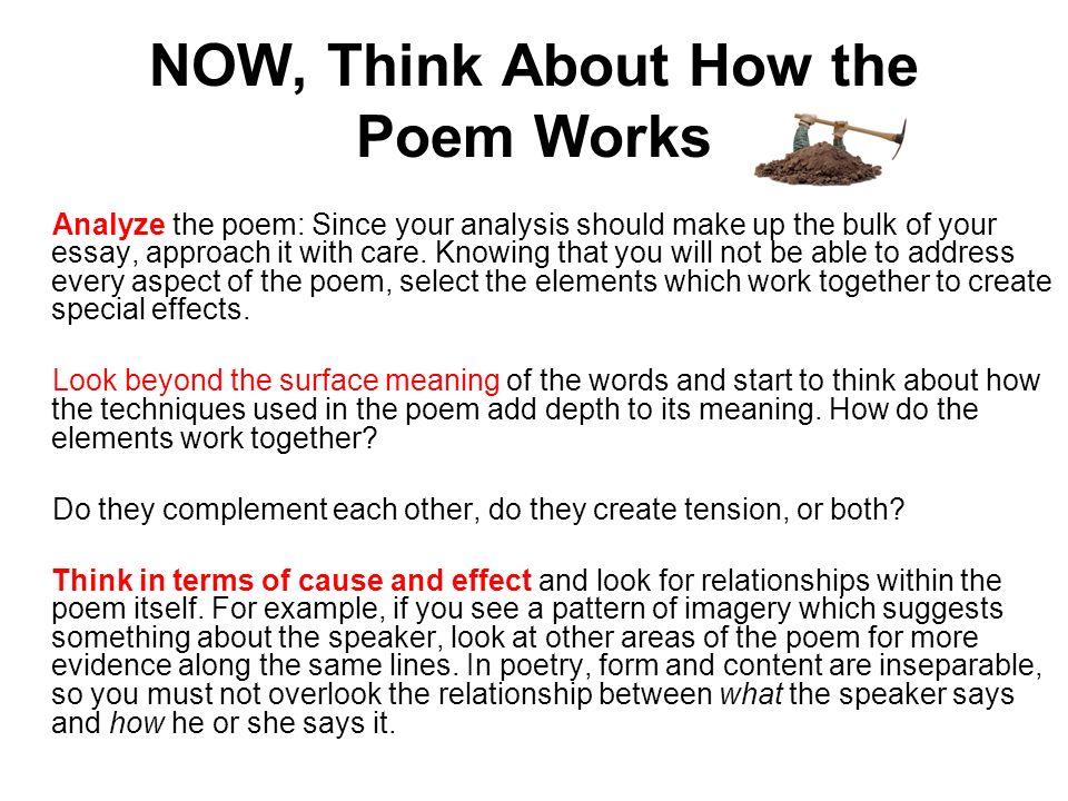 example of poetry analysis essay