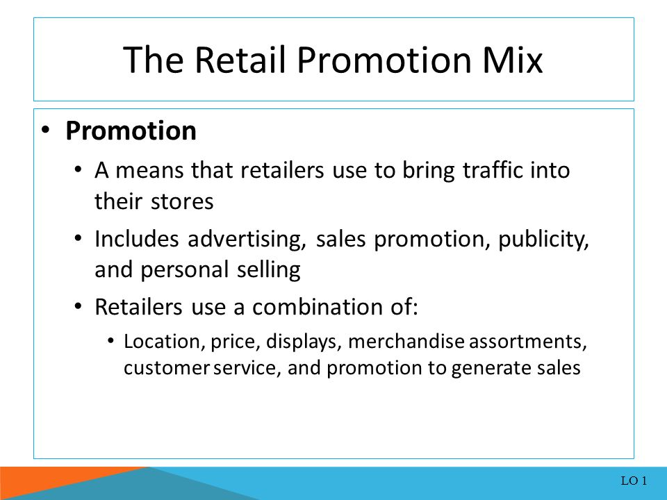 retail advertising and sales promotions homework Sales promotion examples and activities that you can use to promote your small business unlike advertising, sales promotions don't necessarily present upfront.