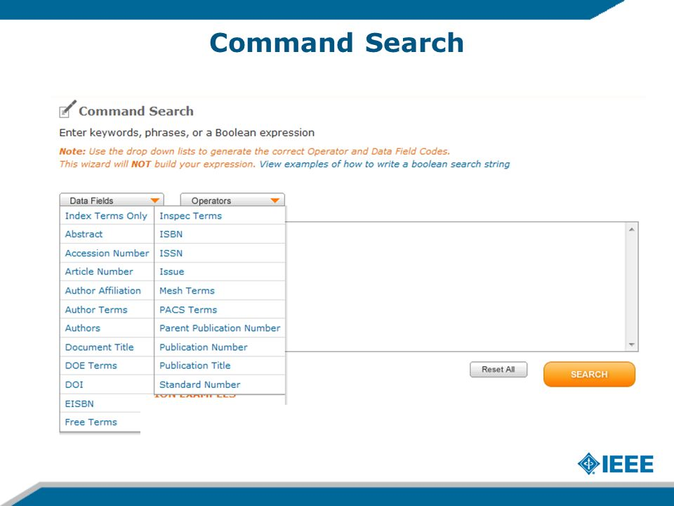 Command Search 16