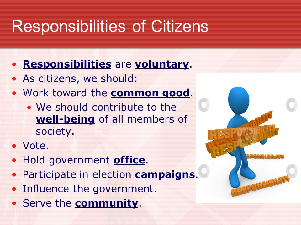 """responsibility catholic citizen free society Discover how individual social responsibility """"each of us is a being in himself and a being in society business challenges change charity citizen base."""