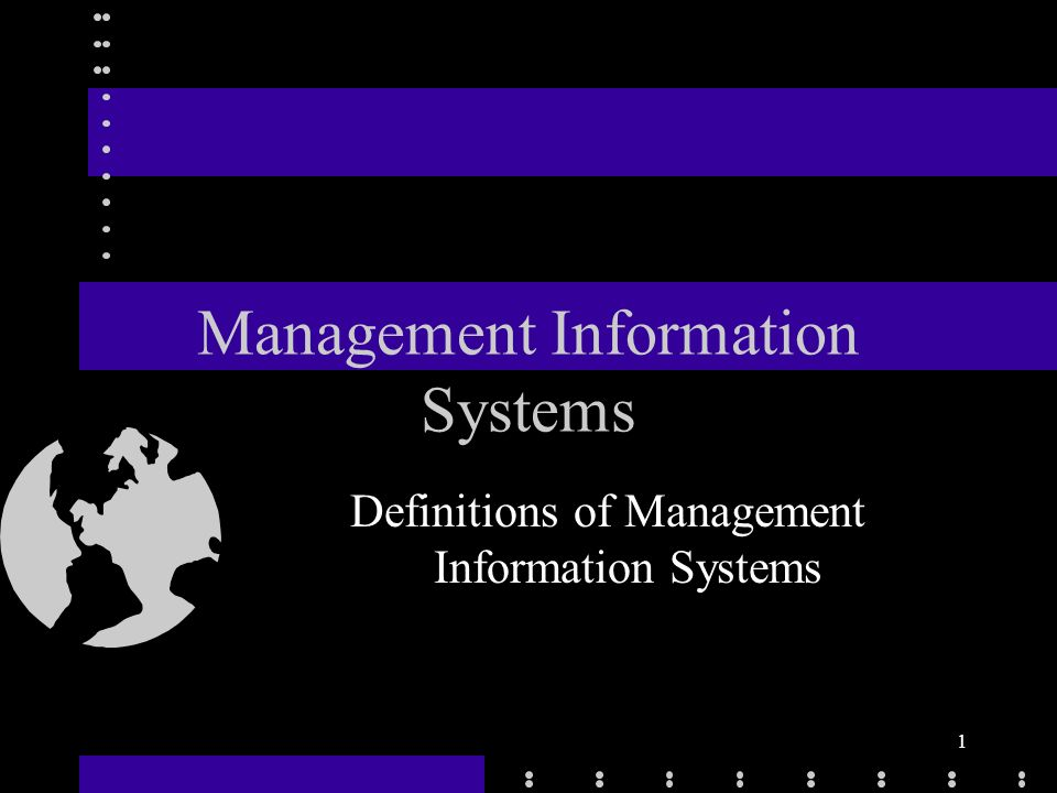what is management information systems Role of management information system the role of the mis in an organization can be compared to the role of heart in the body the information is the blood and mis is the heart.