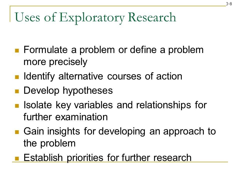 writing an exploratory research paper Techniques and strategies for writing expository essays  expository essays  when writing your expository essay, follow these eight basic steps: select a topic.