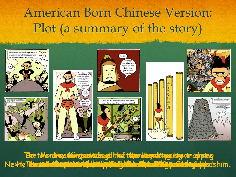 Essay prompts american born chinese