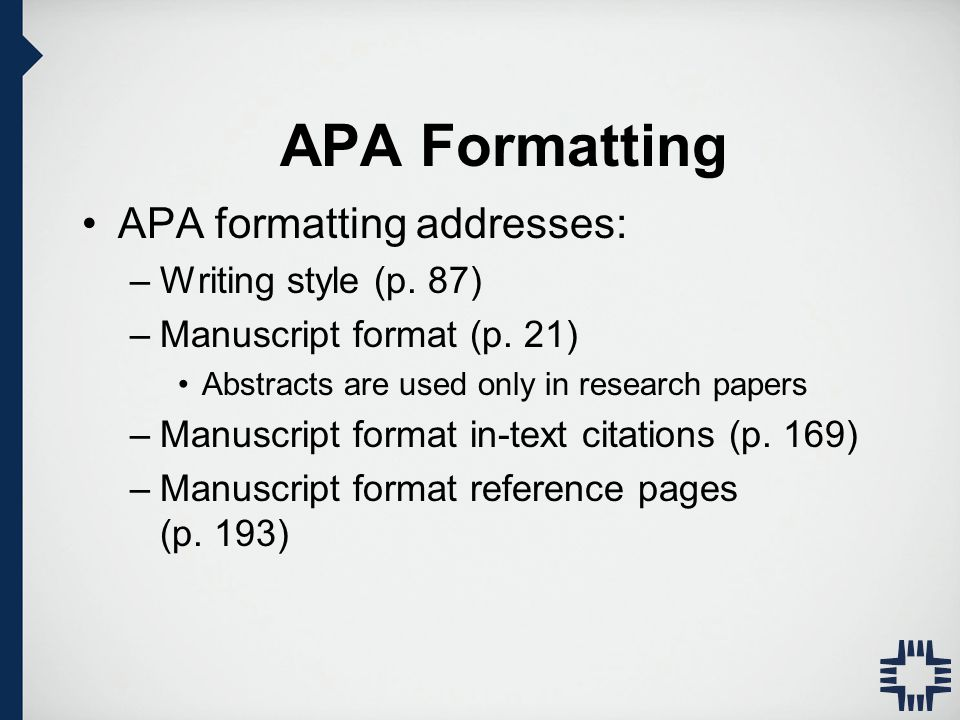 apa style writing and formatting apa manual th edition ppt  3 apa formatting apa formatting addresses writing style