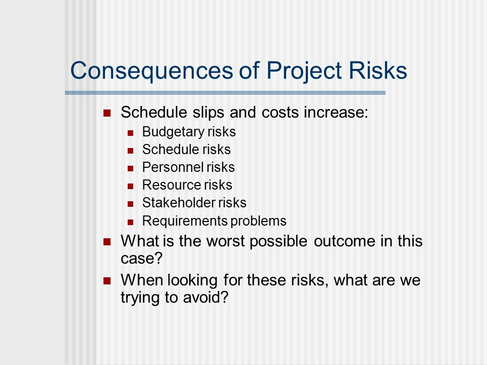 the risks and possible consequences for Managing the risks to children using technology features: june 27th, 2008  by graham willett children using technology are exposed to risks in  from potential .