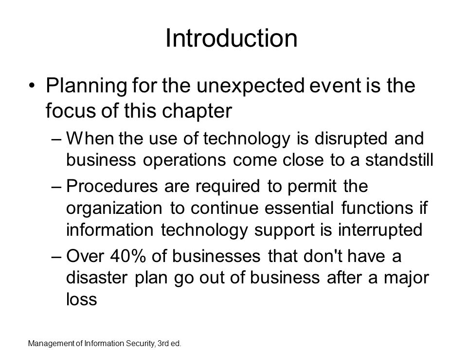 Planning for the unexpected: Managing project risks