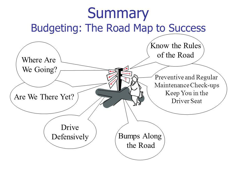 Summary Budgeting: The Road Map to Success