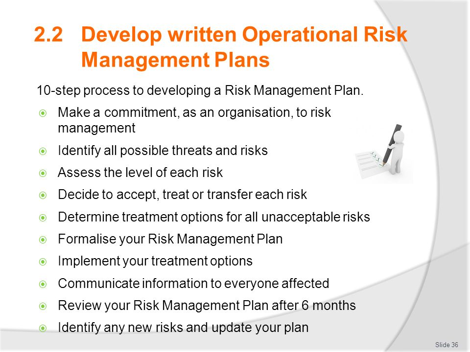Manage Operational Risk  Ppt Download