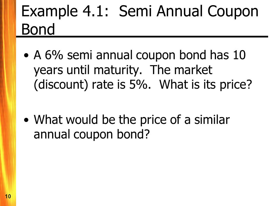 Discount coupon bond