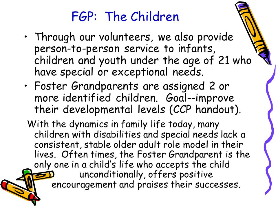 FGP: The Children
