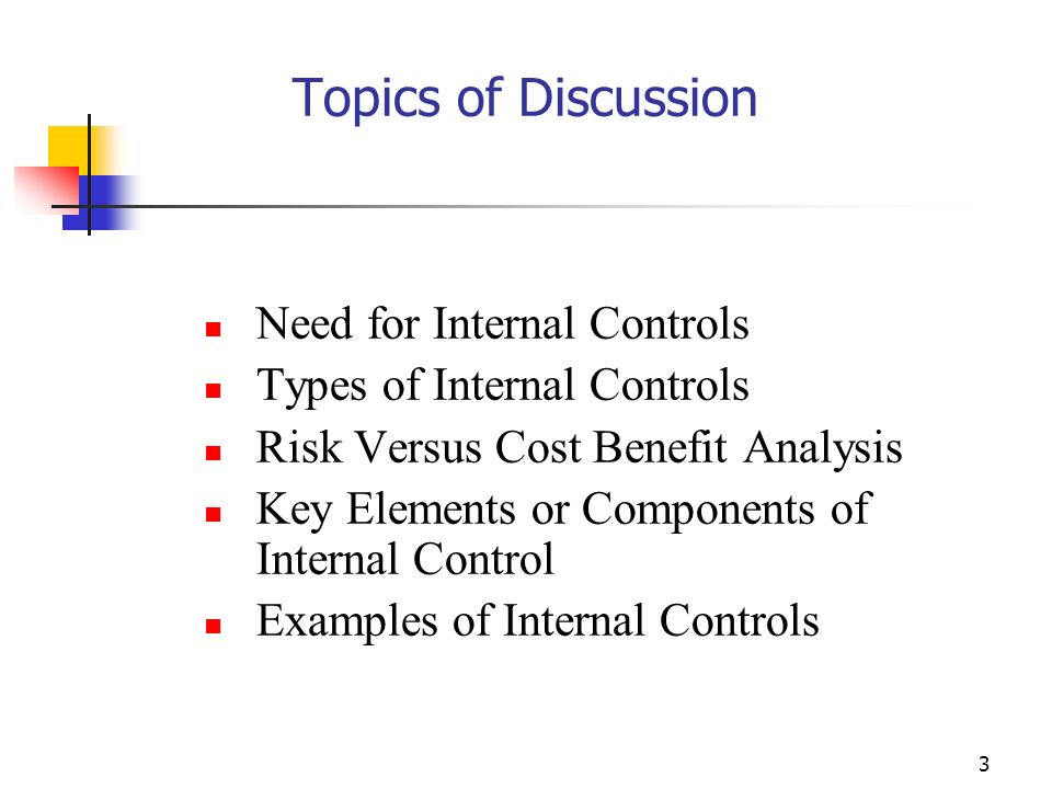 components of internal control pdf