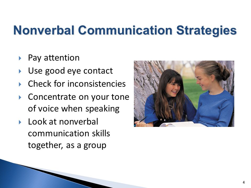 Nonverbal Communication Strategies