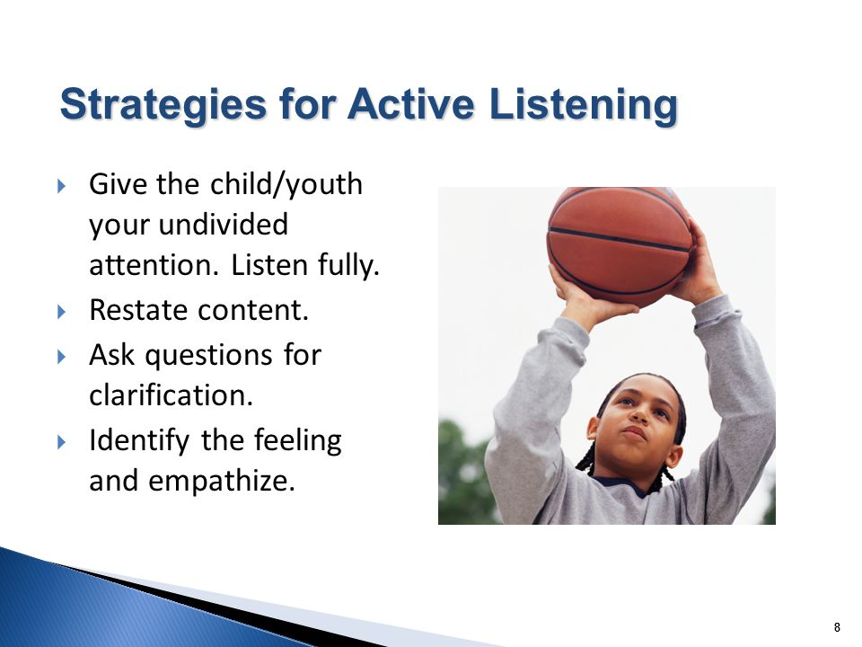 Strategies for Active Listening
